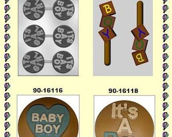 Baby Boy Chocolate Molds (B)