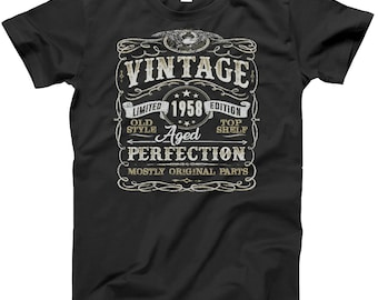 60th Birthday Gift Shirt | Vintage 1958 | Funny | 60 Years Old | Born in 1958 | Gift For Him | Christmas or Birthday Gift | 60th
