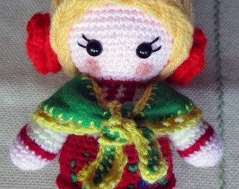 National Ukrainian Amigurumi Crochet Doll