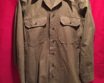 WW2 U.S Army Wool Service Shirt