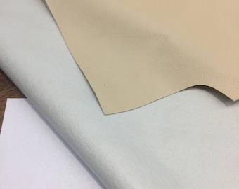 Calico Vanilla Ivory PVC  Fabric Vinyl Fabric by the yard
