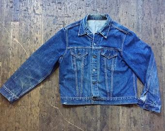 1960s Levis Big E Type III Dark denim trucker jacket