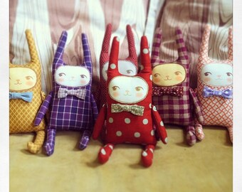 Plush Bunny Doll - Choose Your Friend!