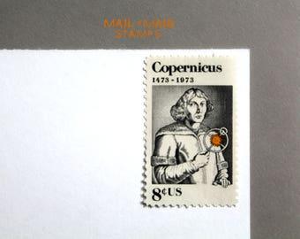 Copernicus || Set of 10 unused vintage postage stamps