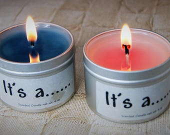 Gender Reveal Candle Gender Reveal Party Baby Gender Reveal Gender Reveal Ideas Gender Reveal Favors Baby Shower Gender Reveal Party Gift