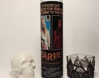 Stephen King's Carrie Sissy Spacek  Horror Prayer Candle