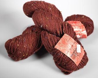 Cascade 128 tweed - Cascade yarn - luxury destash - tweed yarn - knitting yarn - chunky yarn - free shipping