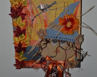 Harvest Song Mixed Media Canvas