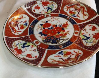Gold Rimmed Plate - UC&GC Japan