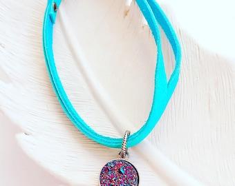 SECRETS Leather Bracelet - Enchanted Dreams Collection
