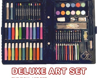 Deluxe Art Set For Kids.