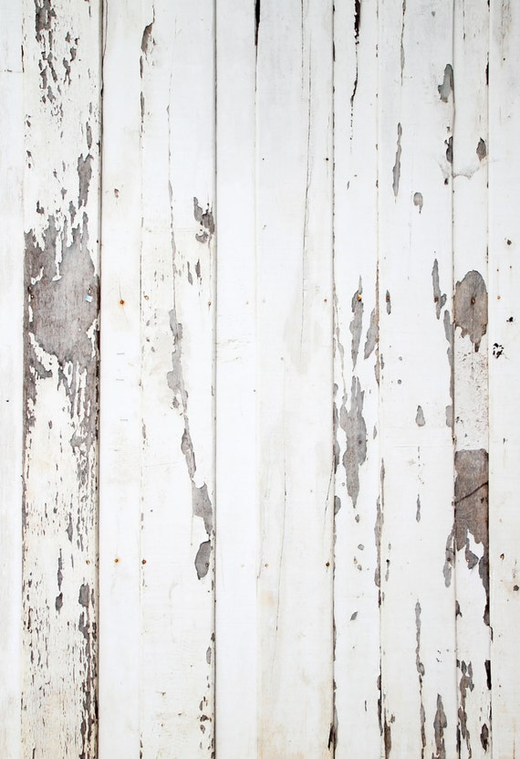 Peeled White Wood Backdrop