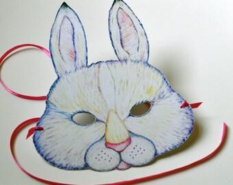 Bunny Rabbit Halloween Mask