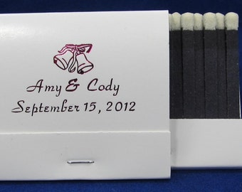 100 personalized matchbooks party favors wedding bridal shower birthday favors custom printed matches paper matchbooks