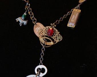 Treasure Trove with Jeweled Crown