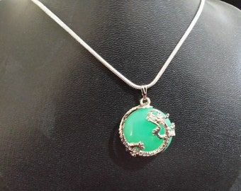 Green Dragon Pendant