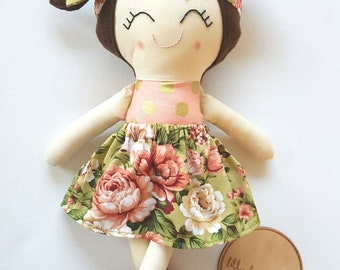 "Handmade cloth Doll ""Dulcie"""