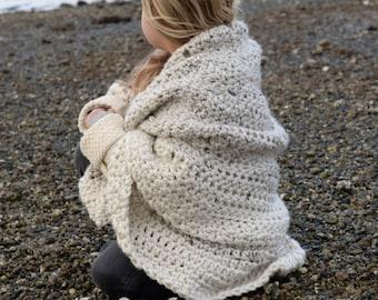 CROCHET PATTERN - Coastlyn Blanket (one size)