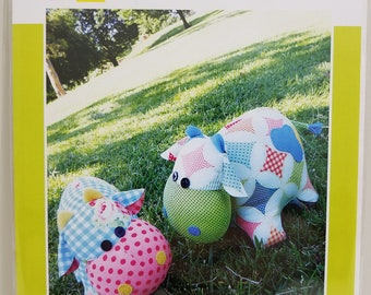 Melly and Me MOO MOO Cow new craft pattern #MM127
