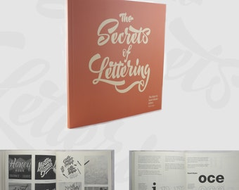 The Secrets of Lettering: The keys to hand draw letters. (Print edition - worldwide shipping) - ENGLISH EDITION -