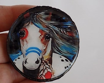 Horse Pendant Focal Native Inspired