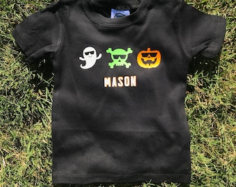Scary Cool Personalized Halloween Shirt