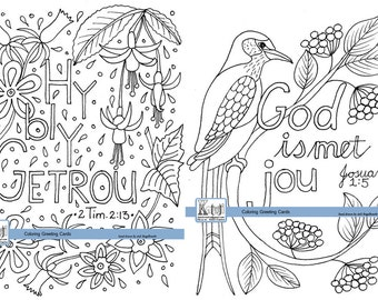 Typografie afrikaans etsy coloring greeting card scripture faith afrikaans m4hsunfo