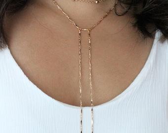 ALLISON|| Dainty Gold Ball Choker Necklace- Gold Layering Necklace- Gypsy Jewelry- Layering Choker