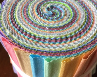 Jelly Roll Solids 20 pieces x 42 in. long