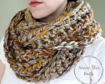 LIMITED EDITION // Oversized Crochet Infinity Scarf, Vegan Crochet Scarf, Chunky Crochet Scarf, Crochet Infinity, Blanket Scarf // Beryl