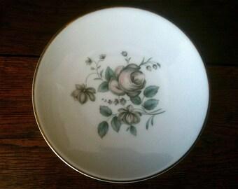 Vintage English Royal Doulton Pastel side Plate circa 1950's / English Shop