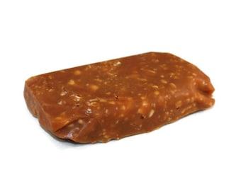 Cashew Caramel 1/2 Pound Block