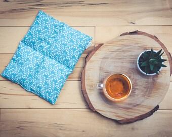 Coussin thérapeutique rectangle pour dos ventre articulation (chaud ou froid) compresse sac de grains soulage dorsalgie crampes menstruelles
