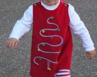 Red Christmas Jumper Kit for sizes 1-5