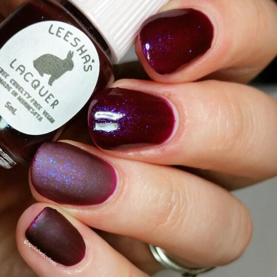 Esmalte de uñas de gelatina de púrpura, púrpura esmalte de uñas ...