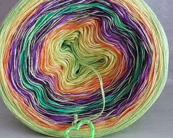 "Color gradient yarn ""Colours"""