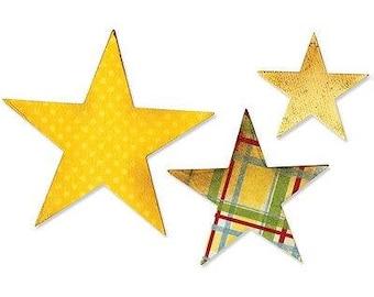 Sizzix Bigz Die 5.5'X6'-Stars