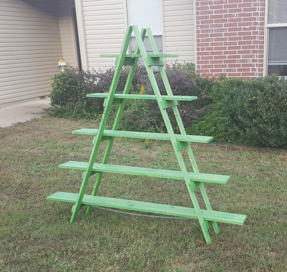 6 ft Wooden Ladder Christmas Village Display Craft Show