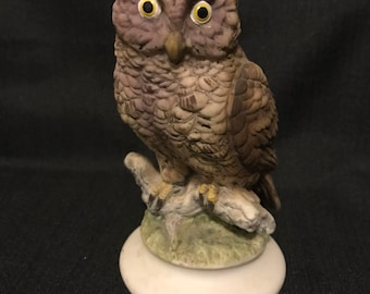 Vintage Owl Figurine Lefton Mid Century Collectible Owl Figure SALE PRICE was 20.00 now 15.00