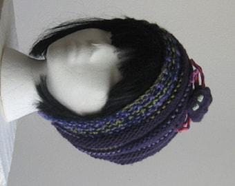 Spider Hand Knit Beanie