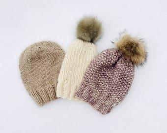 One Hat Three Ways - Pattern Download