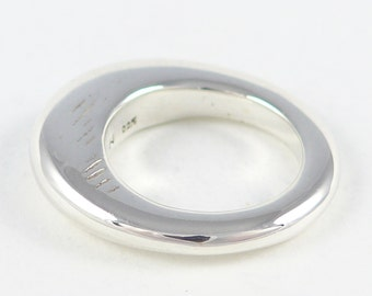 Dune 1, sterling silver ring