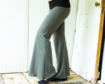 Hemp Weekend Pants - Hemp and Organic Cotton Knit - Made to Order - Choose Your Color