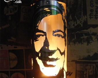 Stephen Fry Beer Can Lantern: Pop Art Candle Lantern, QI - Unique Gift!
