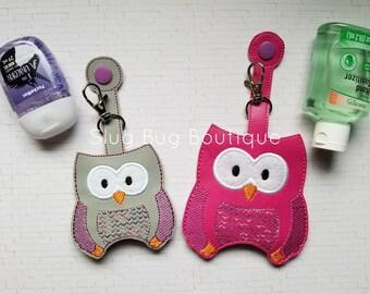 SPRING SALE!! Adorable Owl Sanitizer Holders