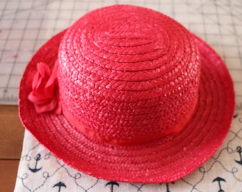 Red Hat Lady. Add your purple