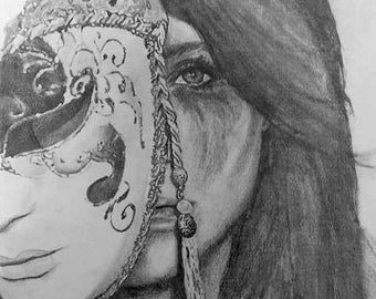 Girl Behind the Mask