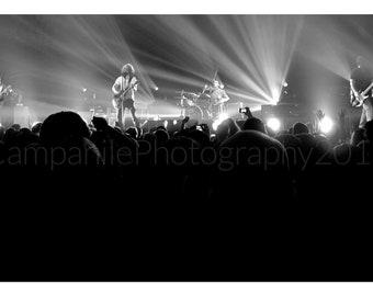 Fell on Black Days, Soundgarden, Black and White Concert Photography (Chris Cornell)