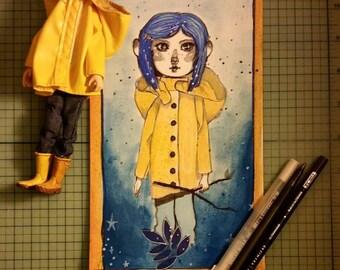 Coraline // Original Artwork