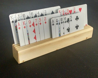 Playing Card Holders (set of 4)